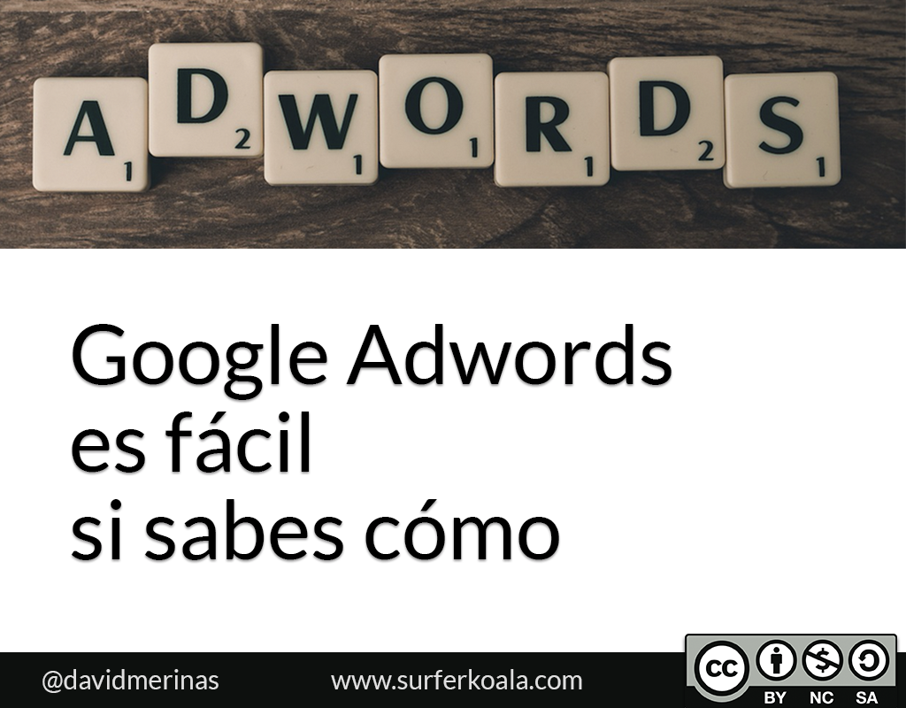 Introducción a Google Adwords (SEM)